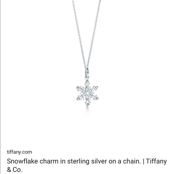 2f6b280ca Tiffany & Co. Jewelry | Tiffany Co Snowflake Necklace | Poshmark